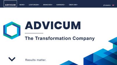 Advicum Consulting GmbH ist Kunde unserer Webdesign und Online-Marketing Agentur Wien