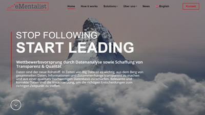 eMentalist GmbH ist Kunde unserer Webdesign und Online-Marketing Agentur Wien